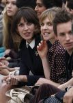 Celebrities Wonder 2264404_burberry front row_Clemence Poesy 4.jpg