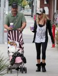 75842285 ashley tisdale at coffee bean small 2 Ashley Tisdale at Coffee Bean With Her Father