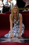 85540771 jennifer aniston hollywood walk of fame small 4 Jennifer Aniston is honored on The Hollywood Walk Of Fame wearing Chanel
