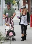 87261962 ashley tisdale at coffee bean small 4 Ashley Tisdale at Coffee Bean With Her Father