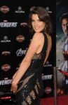Celebrities Wonder 64717471_The-Avengers-Los-Angeles-Premiere_Cobie Smulders 3.jpg