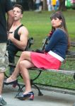Celebrities Wonder 49992009_lea-michele-glee-set_6.jpg