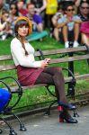 Celebrities Wonder 99916347_lea-michele-glee-set_7.jpg