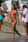 Celebrities Wonder 36089903_anne-v-red-bikini_6.jpg