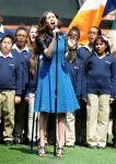 Celebrities Wonder 81093044_emmy-rossum-performs-the-National-Anthem_3.jpg