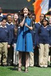 Celebrities Wonder 85197957_emmy-rossum-performs-the-National-Anthem_2.jpg