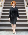 Celebrities Wonder 42969256_MAX-MARA-Accessories-Campaign-launch_Christina Hendricks 2.JPG