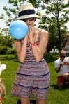 Celebrities Wonder 70573467_emy-rossum-Macklowe-Family-Fourth-of-July-Party_5.jpg