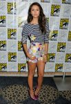 Celebrities Wonder 78812757_The-Vampire-Diaries-panel-during-2013-Comic-Con_Nina Dobrev 4.JPG