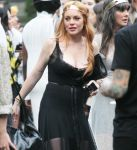 Celebrities Wonder 61646079_lindsay-lohan-Saints-of-the-Zodiac-fashion-show_6.JPG