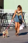 Celebrities Wonder 81107232_vanessa-hudgens-walking-dog_2.jpg