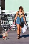 Celebrities Wonder 94290064_vanessa-hudgens-walking-dog_3.jpg